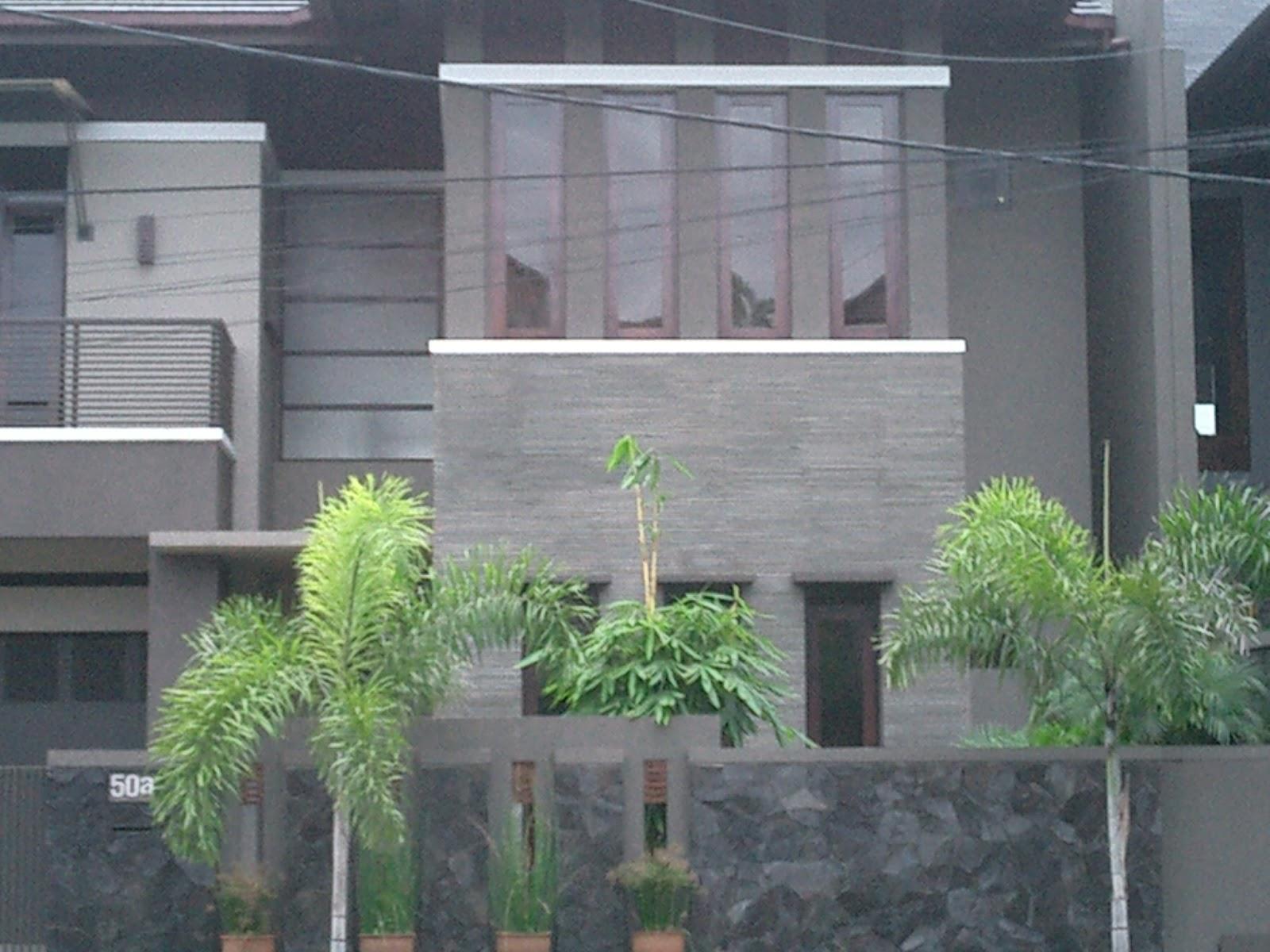 Batu Alam Yang Tepat Untuk Model Tampak Depan Rumah Minimalis