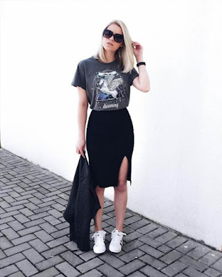 Outfit de verano casual femenino