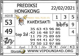 Prediksi Togel HONGKONG DUNIA4D 22 FEBRUARI 2021