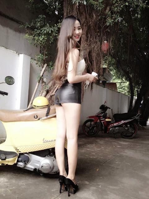 Hot Girl với đẳng cấp khoe hàng 10