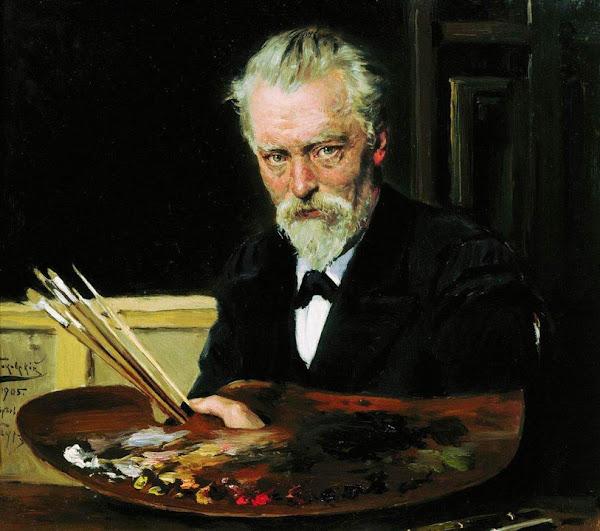 Маковский Владимир Егорович - Автопортрет. 1905