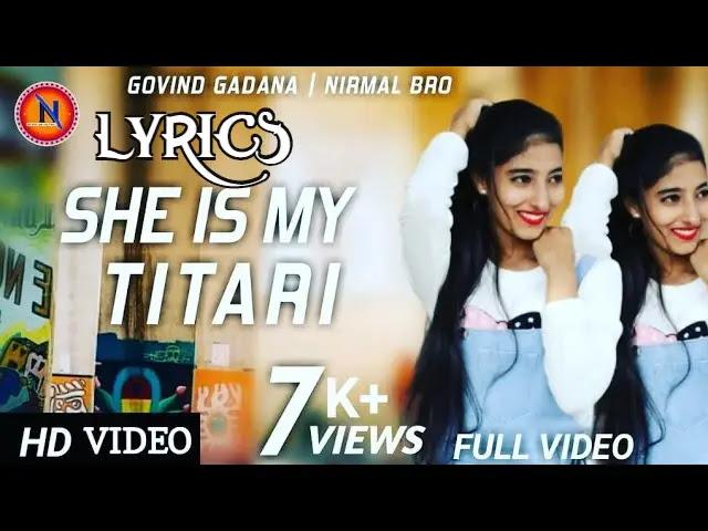 She Is My तीतरी | New Hindi Hip-Hop Song 2020. Govind Gadana&Nirmal Bro,Nikita Rajpurohit.