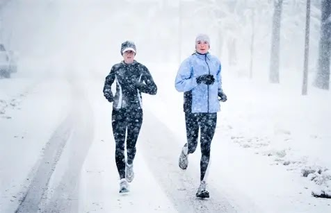 Weathering the cold for exercise