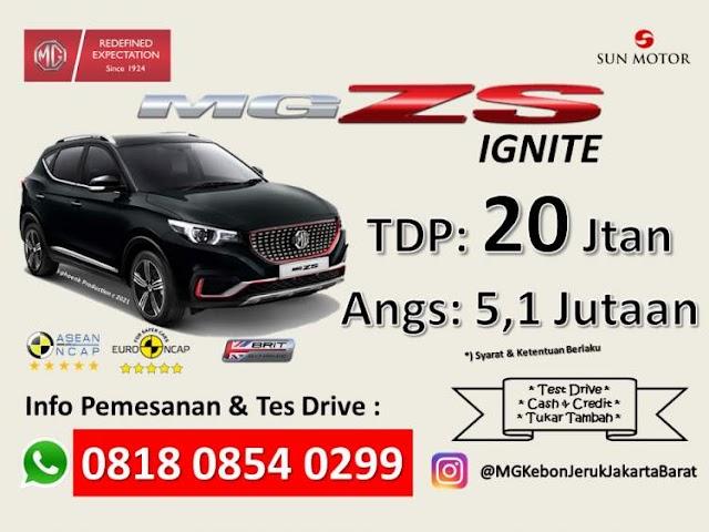 Promo Mobil MG ZS Termurah Jakarta Timur