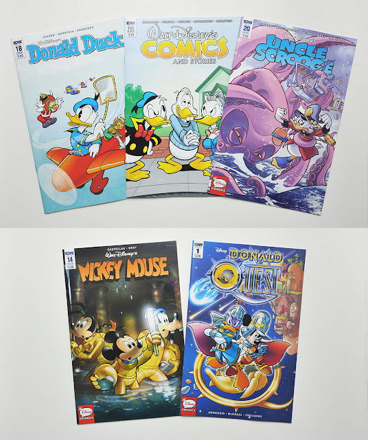 November 2016 Disney comics from IDW