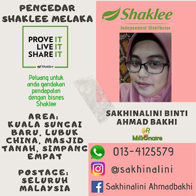 Pengedar Shaklee Melaka 0134125579