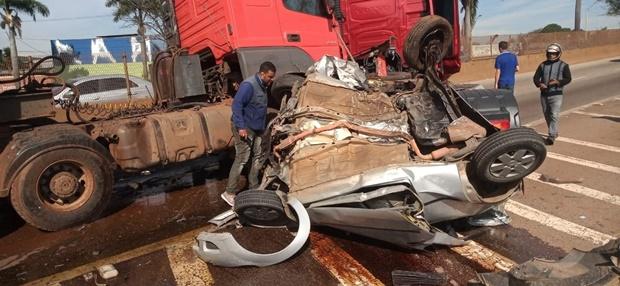 Homem que já residiu em Santa Cruz do Capibaribe morre em acidente envolvendo carretas em Minas Gerais