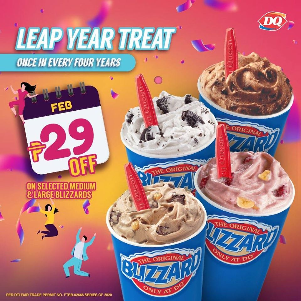 Dairy Queen Leap Year Treat This
