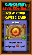 Quench - Wizard101 Card-Giving Jewel Guide