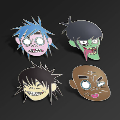 Gorillaz Song Machine Edition Vinyl Figures by Superplastic