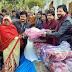 हरदीपुर प्रधान ने 5 सौ गरीबों को दिया कम्बल