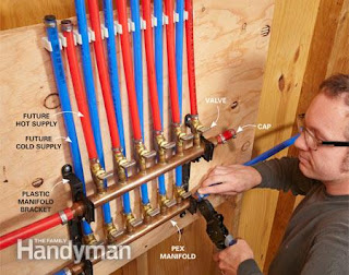 Do it yourself green building with jerry young for Pex water lines vs copper