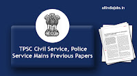 TPSC Civil Service Mains Previous Papers