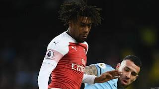 Everton Bid £30m for Arsenal's Iwobi