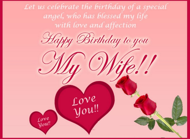 Happy birthday wishes images for wife m4hsunfo