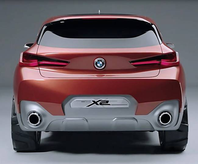 2017 BMW X2 Crossover Concept