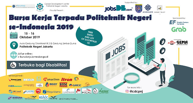 Job Fair di Politeknik Negeri Jakarta