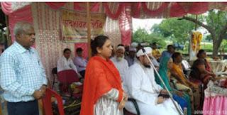 गांधी जी की 150 वी जयंती पर सद्भावना शिविर का आयोजन संपन्न