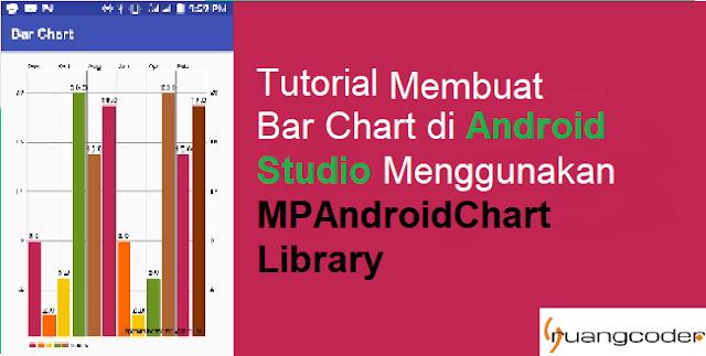 Cara Membuat Chart di Android Studio Menggunakan MPAndroidChart Library
