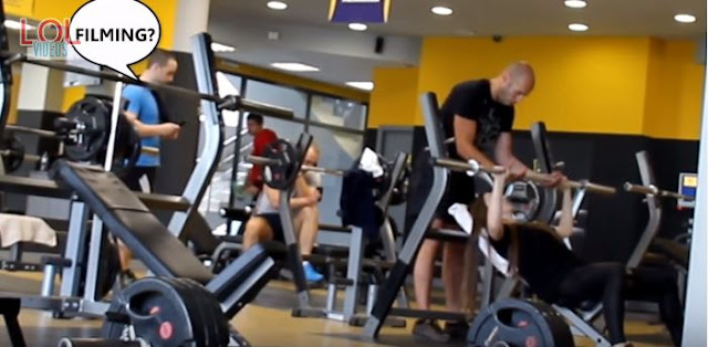 This Girl Was Just Working Out at a Gym But She Suddenly Started Doing This! WATCH IT HERE!