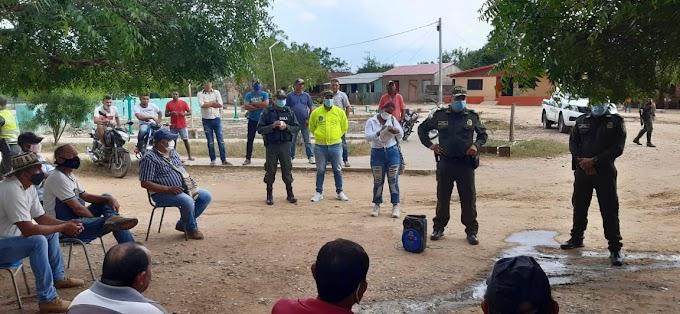 Policía realiza operativos y campañas contra el abigeato en los municipios de Chibolo y Sabanas de San Ángel