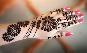 25+ Latest Easy Jewellery Mehndi Design Images 2020 Download | Jewellery Mehndi Design Simple and Easy