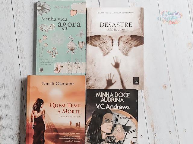 6 livros que parece que só eu li