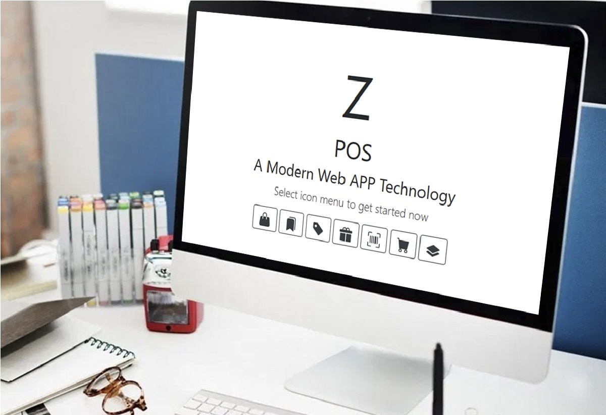 Aplikasi kasir online terbaru dengan Z-POS web apps