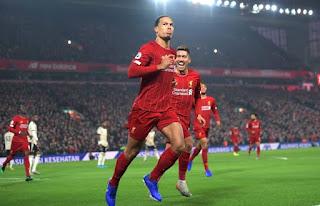 Liverpool Defender Van Dijk set to match Robbie Fowler's longstanding record