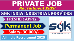 SGK India Industrial Services (P) Ltd Required  Maintenance Engineer in Automotive Electrical /  Mechanical for Machine Shop