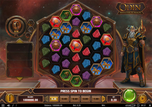Main Gratis Slot Indonesia - Odin Protector Of Realms Play N GO