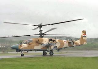 Helikopter Serang Ka-52 Alligator Mesir