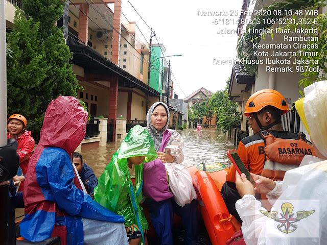 Ini Sejumlah Wilayah di Jakarta Terdampak Banjir