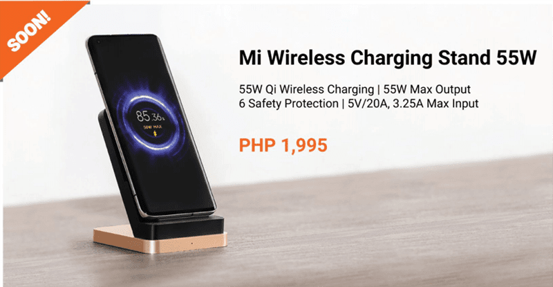 Mi Wireless Charging Stand 55W