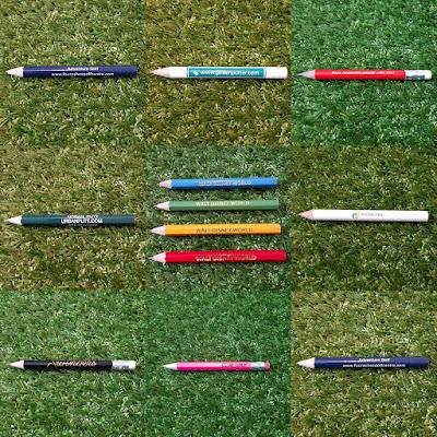 Minigolf pencils