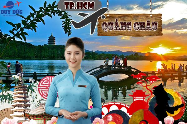 Vé máy bay TPHCM đi Quảng Châu