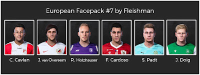 PES 2021 European Facepack #7 by Fleishman