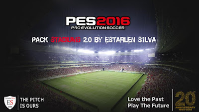 PES 2016 Pack Stadiums 2.0 By Estarlen Silva