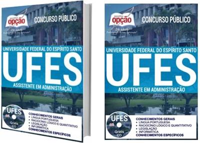 Apostila concurso UFES 2017 Assistente em Administração