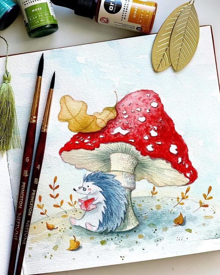 01-The-hedgehog-reading-Natalia-Nazarian-www-designstack-co