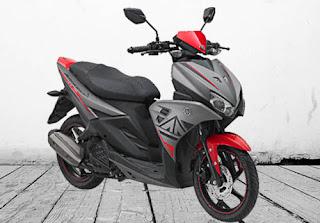 Harga Motor Yamaha Aerox 125 LC di Solo
