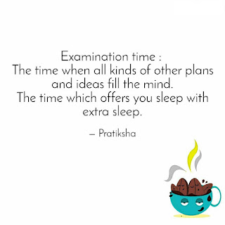 Exam Time Quotes