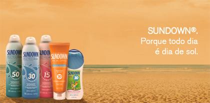 Em 2009 a marca ingressou no mercado de proteção de uso diário e pela  primeira vez na história lançou um protetor solar no inverno. O novo SUNDOWN®  Facial ... b50857be12