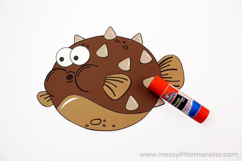 fish paper craft