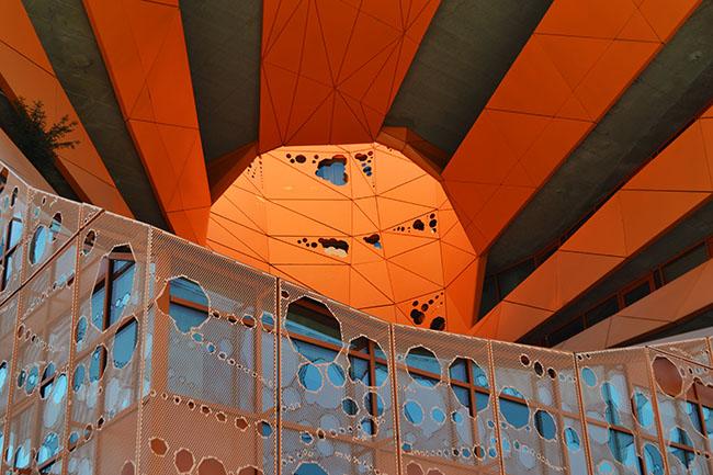 Cube Orange alla Confluence di Lione