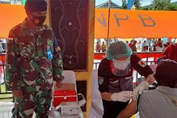 Lanud Pattimura Dukung Serbuan Vaksinasi Nasional di Ambon