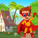 G4K Superhero Boy Rescue Game