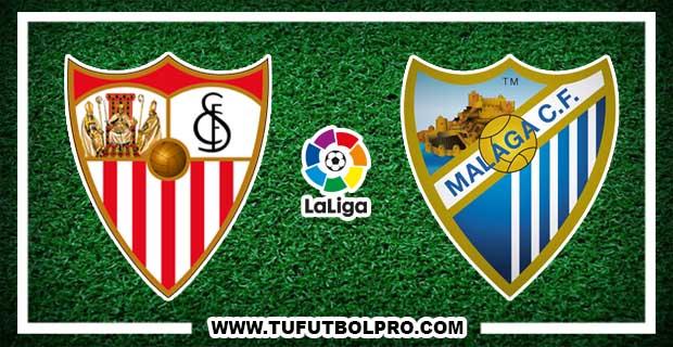 Ver Sevilla vs Málaga EN VIVO Por Internet Hoy 17 de Diciembre 2016