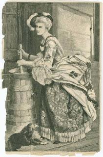 regina maria antonietta nella latteria