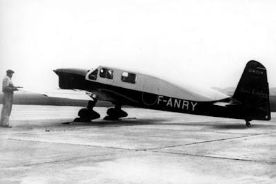 1/144 Caudron Simoun Saint Exupery diecast metal aircraft miniature